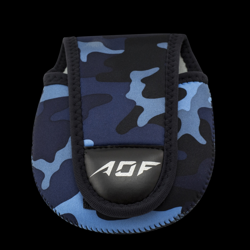 AOF Reel Pouch Camo Blue