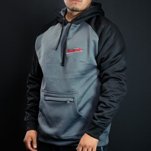 Accurate Hooded Pullover - Gray & Black
