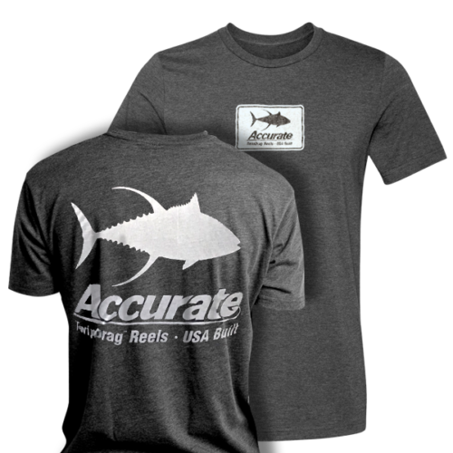 306fcced Accurate Family Owned / American Made T-Shirt – Grey – Accurate ...