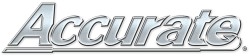 Accurate Fishing Reels Retina Logo